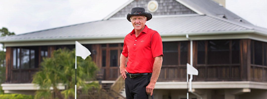 Greg Norman at Medalist Village